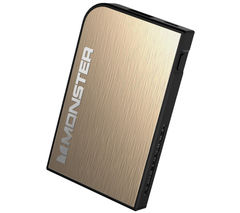 MONSTER Mobile PowerCard Turbo Rechargeable Portable Battery Pack - Champagne