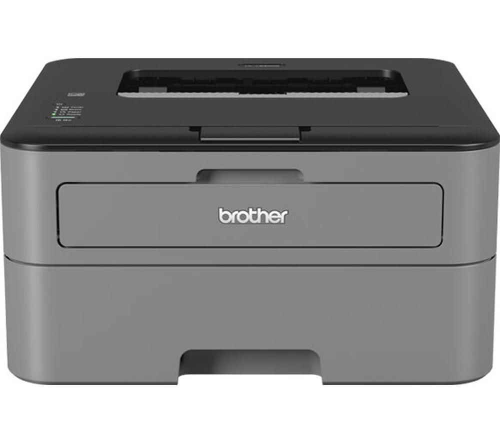 BROTHER HL2300D Monochrome Laser Printer - Black + TN2320 Black Toner Cartridge