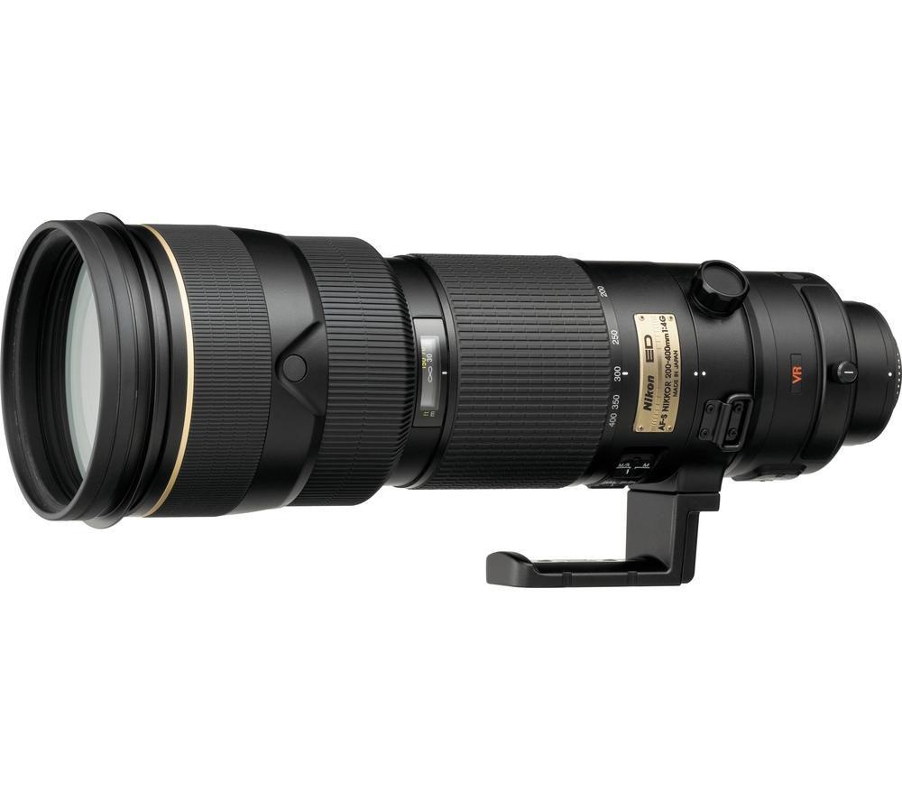 NIKON NIKKOR AF-S 200-400 mm f/4 G ED VR II Telephoto Zoom Lens