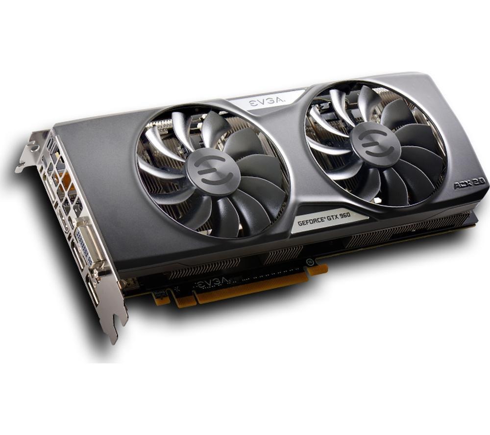 EVGA GeForce GTX 960 SSC Gaming Graphics Card