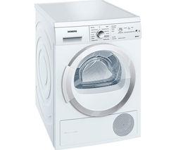 SIEMENS WT46W381GB Condenser Tumble Dryer - White