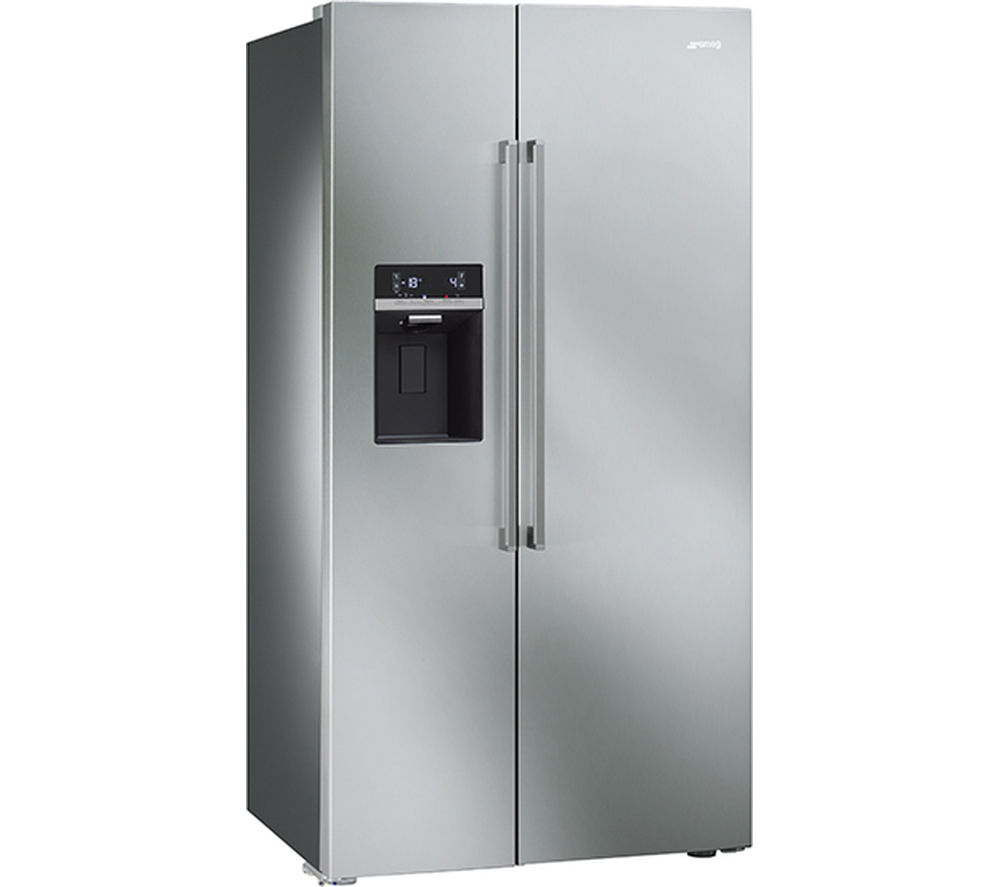 SMEG SBS63XED American-Style Fridge Freezer - Stainless Steel