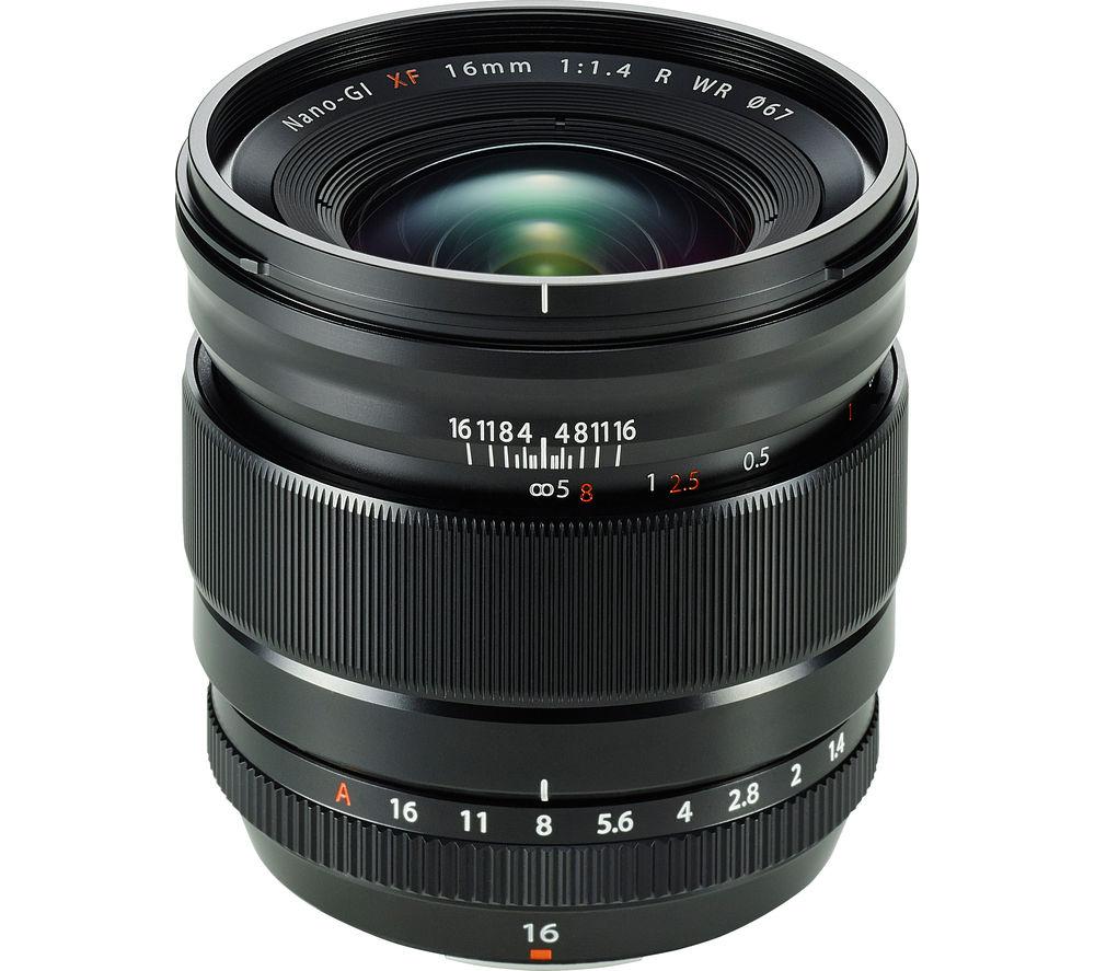 FUJIFILM Fujinon XF 16 mm f/1.4 R WR Wide-angle Prime Lens