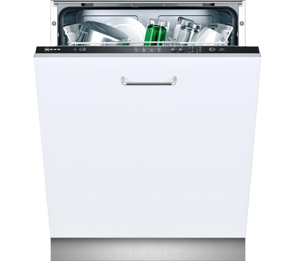 NEFF  S51E40X2GB Full-size Integrated Dishwasher +  W5420X1GB Integrated Washing Machine