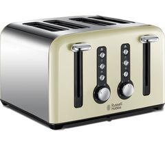 RUSSELL HOBBS Windsor 22830 4-Slice Toaster - Cream