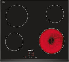 SIEMENS ET651HE17E Electric Ceramic Hob - Black