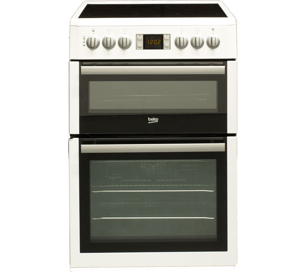 BEKO Select BDVC675NTW 60 cm Electric Ceramic Cooker - White