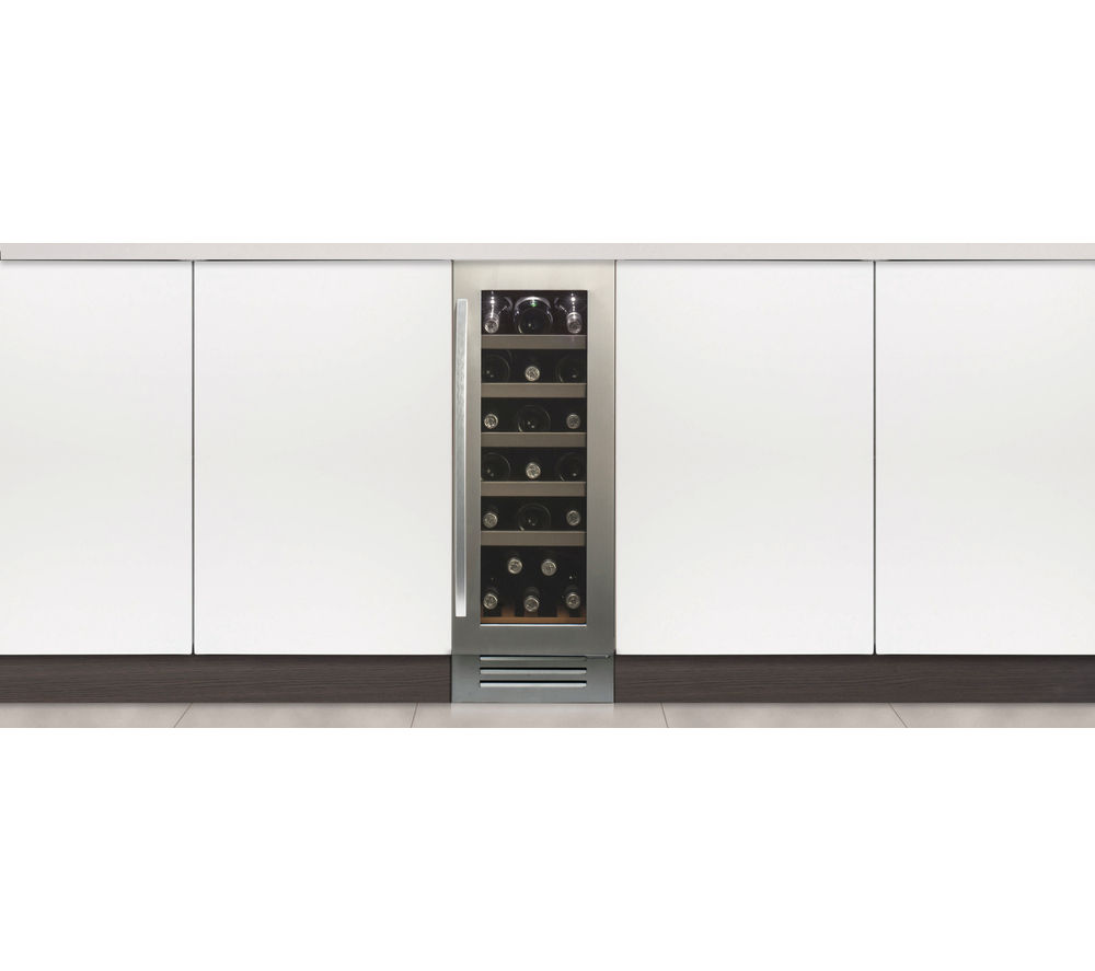 Image of CAPLE WI3121 Wine Cooler - Stainless Steel, Stainless Steel