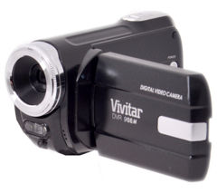 VIVITAR DVR908MFD Traditional Camcorder - Black