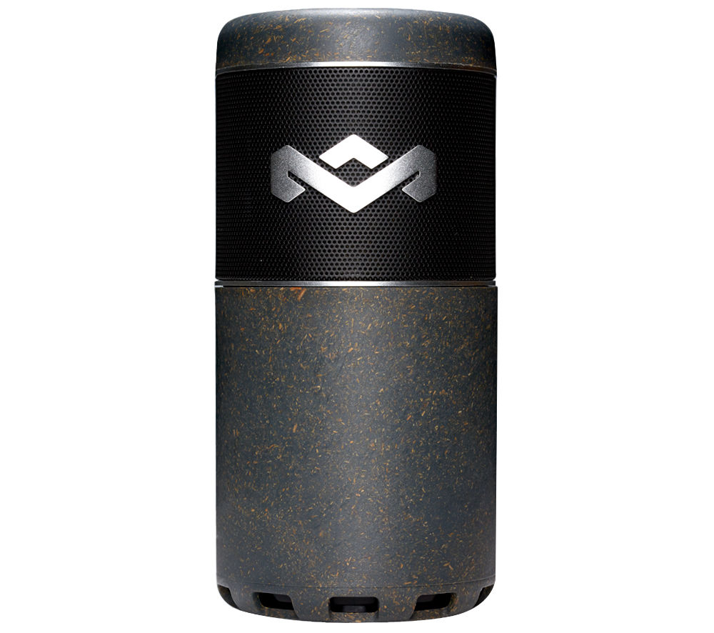 Image of HOUSE OF MARLEY Chant Sport Portable Wireless Speaker - Black & Grey, Black