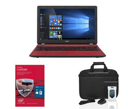 "ACER Aspire ES1-531 15.6"" Laptop - Red"