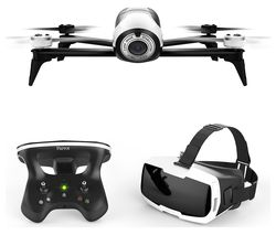 PARROT Bebop 2 FPV Drone with SkyController 2 - White & Black