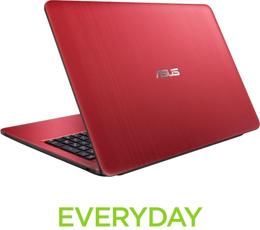 "ASUS VivoBook A540 15.6"" Laptop - Red + Office 365 Personal"