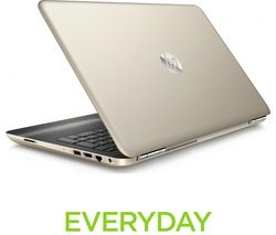 "HP Pavilion 15-au153sa 15.6"" Laptop - Gold"