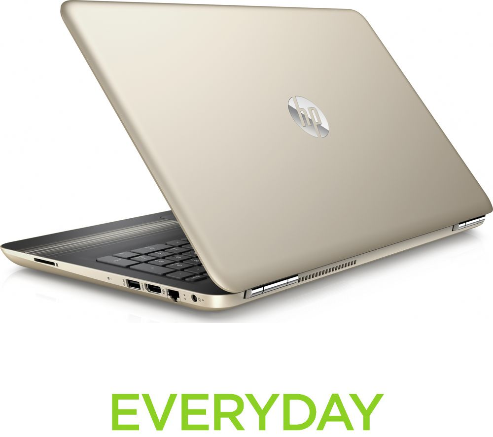 HP  Pavilion 15au153sa 15.6 Laptop  Gold Gold