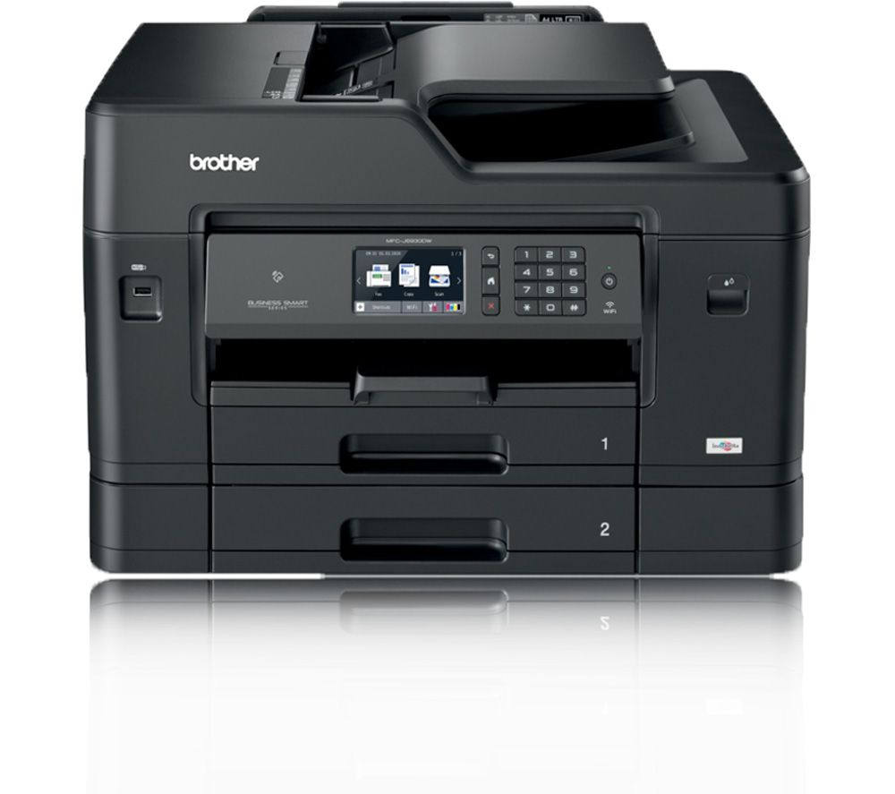 brother mfcj6930dw all in one wireless a3 inkjet printer with fax deals pc world. Black Bedroom Furniture Sets. Home Design Ideas