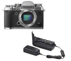 FUJIFILM X-T2 Mirrorless Camera - Graphite, Body Only