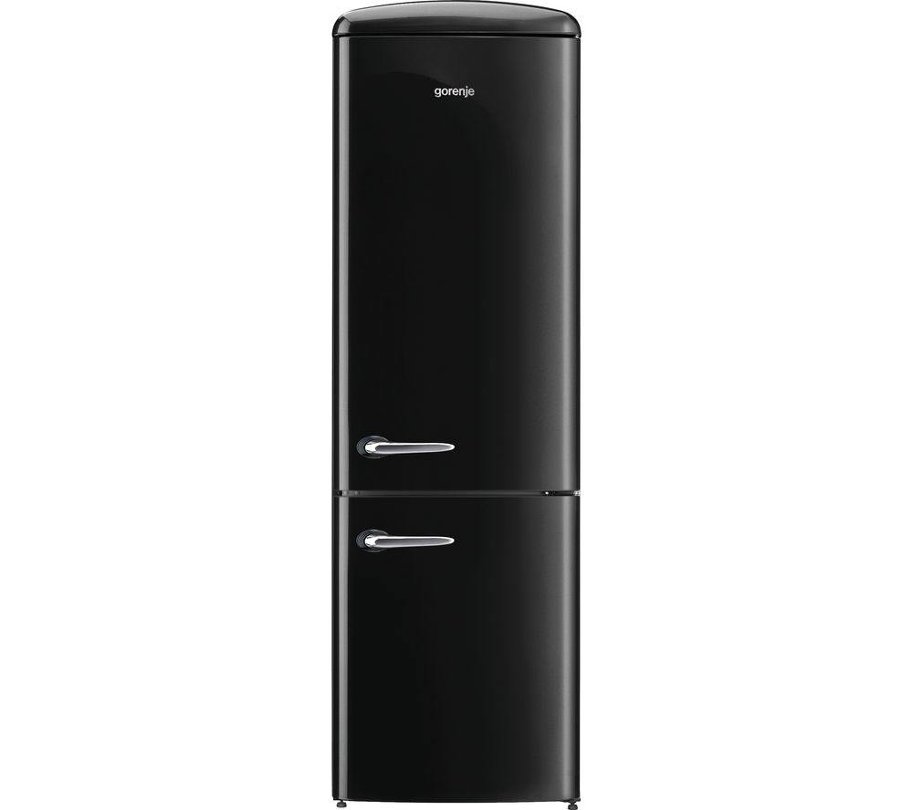 GORENJE ONRK193BK Fridge Freezer  Black Black
