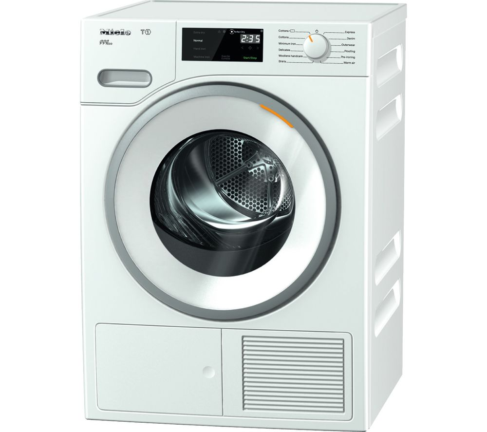 MIELE Eco TWF620WP Heat Pump Tumble Dryer  White White