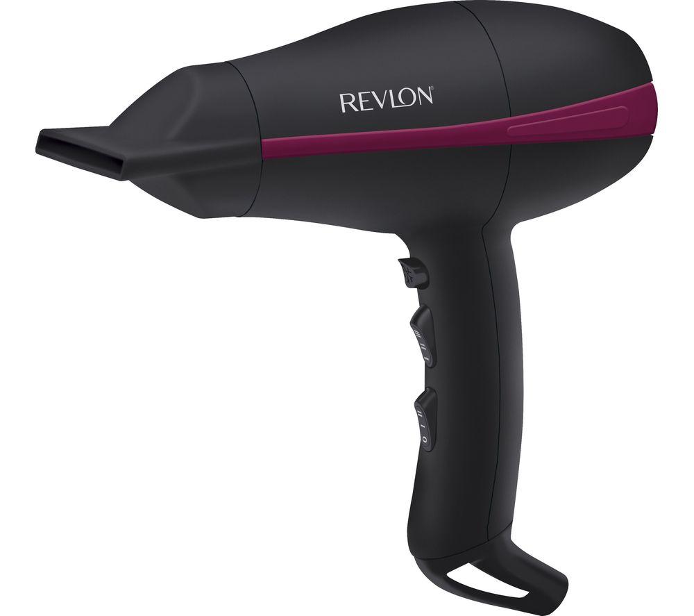 REVLON  Tempest Power Hair Dryer  Black Black