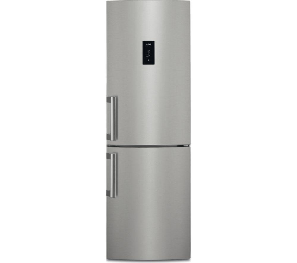 Stainless Steel Refridgerators Buy Aeg Customflex Rcb53724mx 60 40 Fridge Freezer Silver