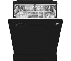 BEKO DFN04210B Full-size Dishwasher - Black
