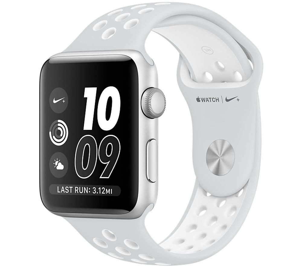 Image of APPLE WATCH NIKE 38MM SIL PLATWHT-GBR