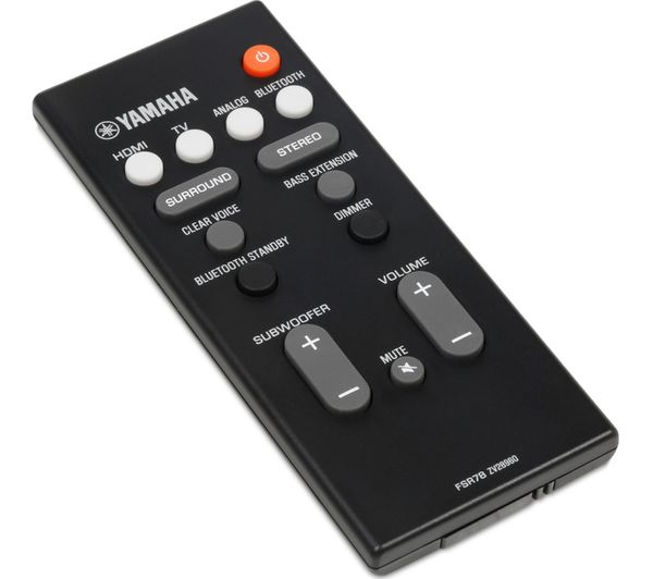 Buy yamaha yas107 7 1 sound bar free delivery currys for Yamaha yas 107 review