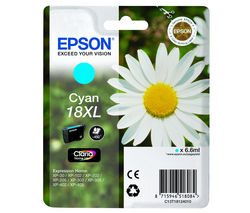 EPSON Daisy T1812 XL Cyan Ink Cartridge