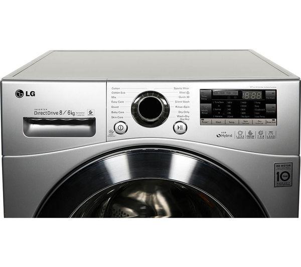 Lg Washer And Dryer Manufacturer Warranty ~ Buy lg f a yd washer dryer silver gbb pzcws fridge
