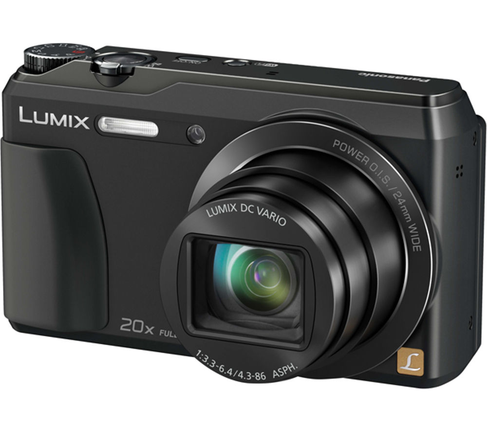 PANASONIC DMC-TZ55EB-K Superzoom Compact Digital Camera - Black
