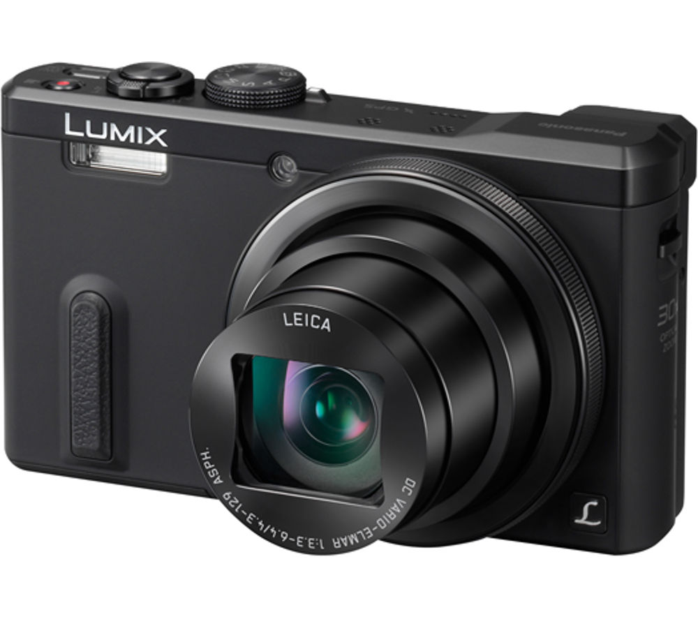 PANASONIC  Lumix DMC-TZ60EB-K Superzoom Compact Camera - Black +  Camera Case - Black