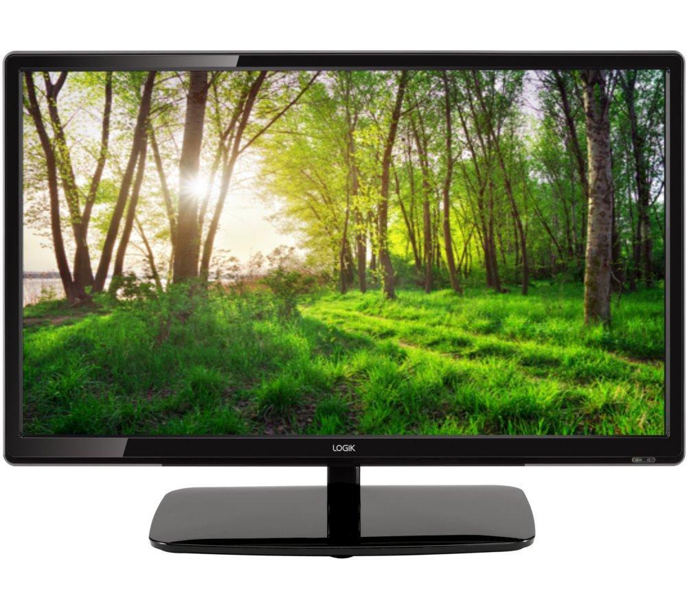 buy logik l24he14 24 led tv lbrkit 12 small screen tv starter kit free delivery currys. Black Bedroom Furniture Sets. Home Design Ideas