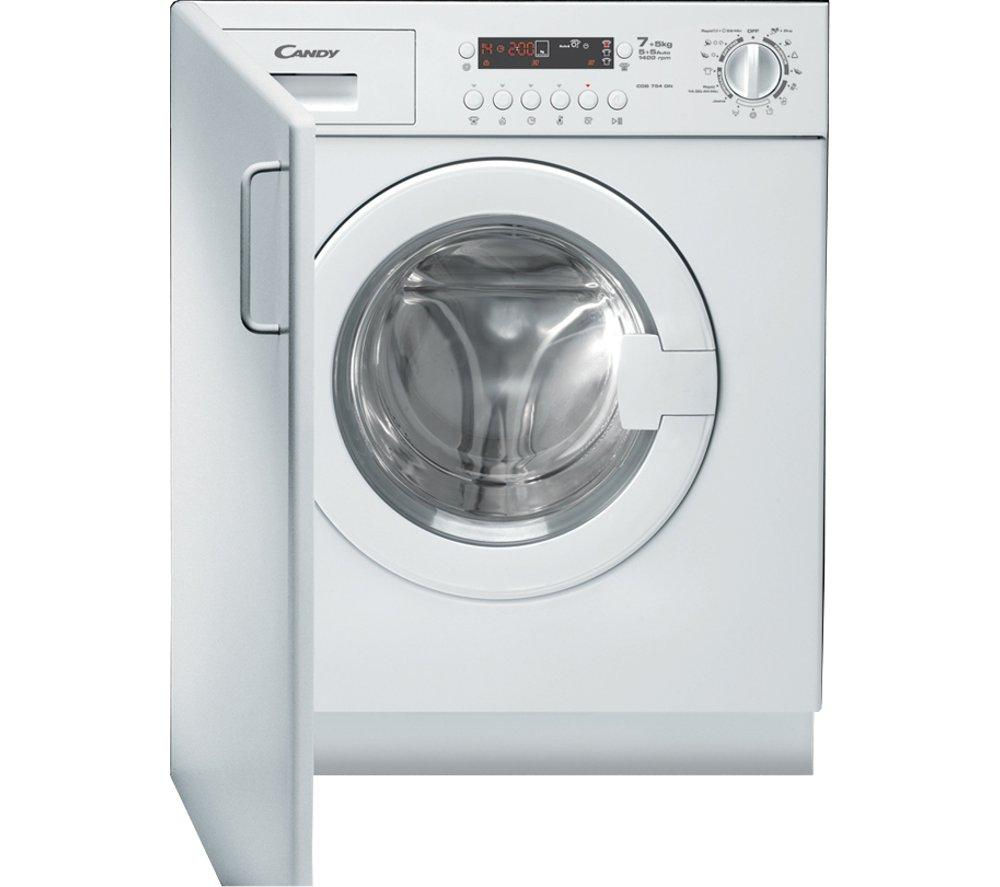 Candy Cdb754dn1 Integrated Washer Dryer Tumble Dryers