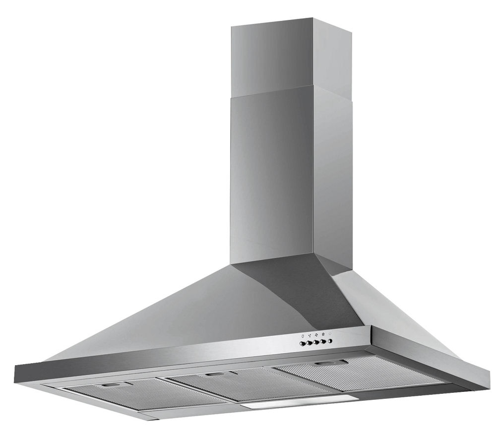 BAUMATIC F90.2SS Chimney Cooker Hood - Stainless Steel