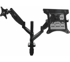 SANDSTROM SFMGDA15 Full Motion Desktop Monitor & Laptop Bracket