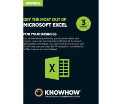 KNOWHOW eLearning - Microsoft Excel for Business 3 users