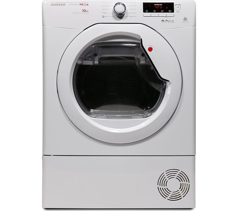 HOOVER  DMCD1013B Condenser Tumble Dryer - White +  SISML21011P Slimline Dishwasher - White