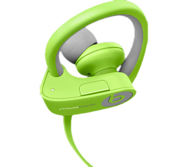 Image of BEATS Powerbeats² Wireless Bluetooth Headphones - Green