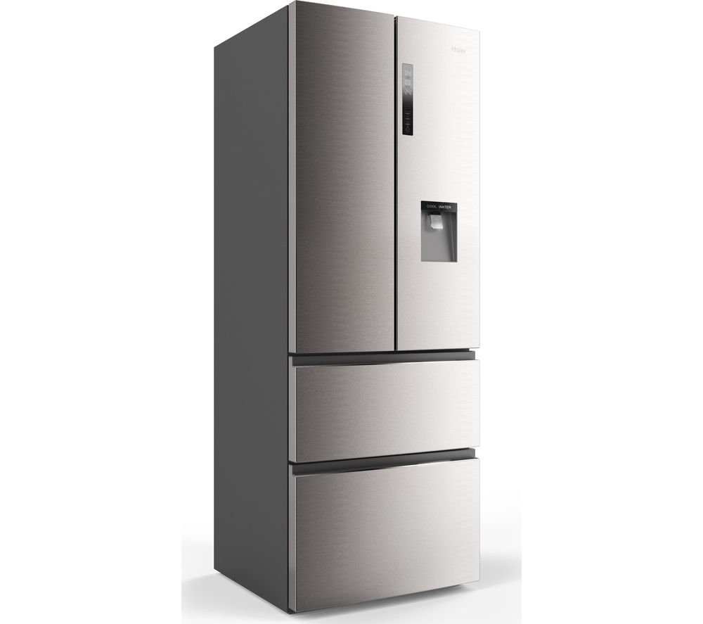 buy haier b3fe742cmjw fridge freezer silver free. Black Bedroom Furniture Sets. Home Design Ideas