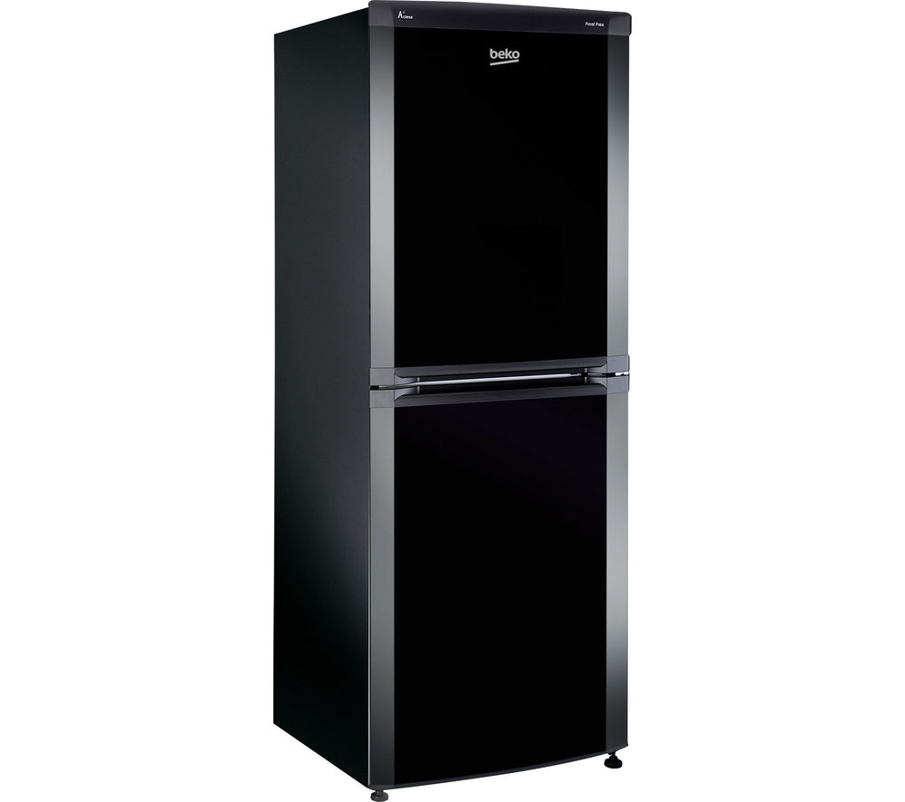 beko cf5533apb fridge freezer black black freezers. Black Bedroom Furniture Sets. Home Design Ideas