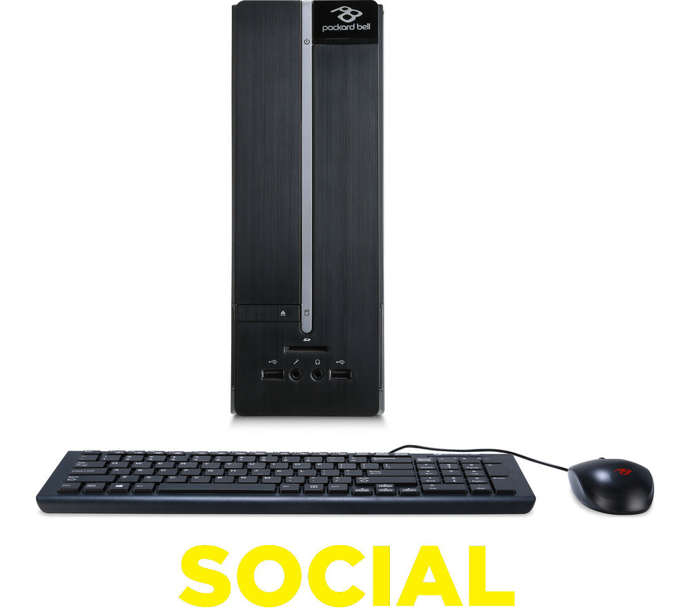PACKARD BELL iMedia S 2984 Desktop PC + Office 365 Personal + LiveSafe Unlimited 2016