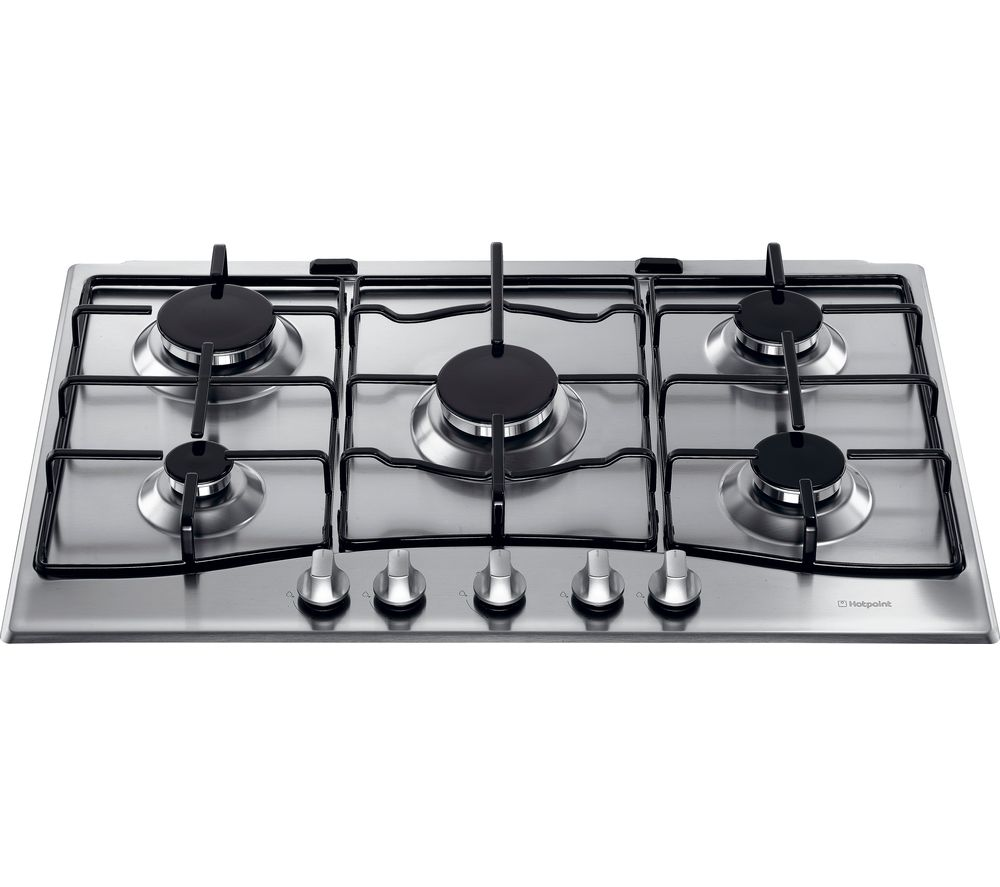 HOTPOINT GC750X Gas Hob - Stainless Steel