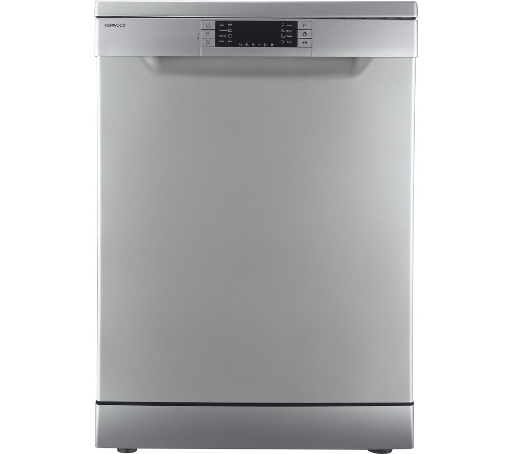 KENWOOD KDW60S16 Full-size Dishwasher - Silver