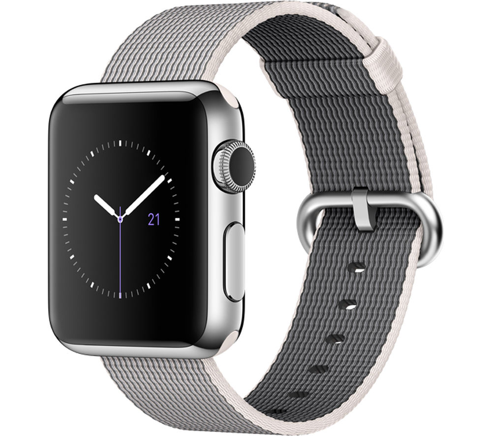 Apple Watch 38 mm with Woven Nylon Band