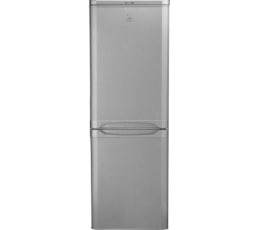 INDESIT NCAA55S Fridge Freezer - Silver
