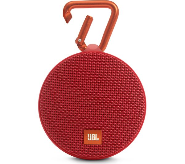Image of JBL Clip 2 Portable Wireless Speaker - Red