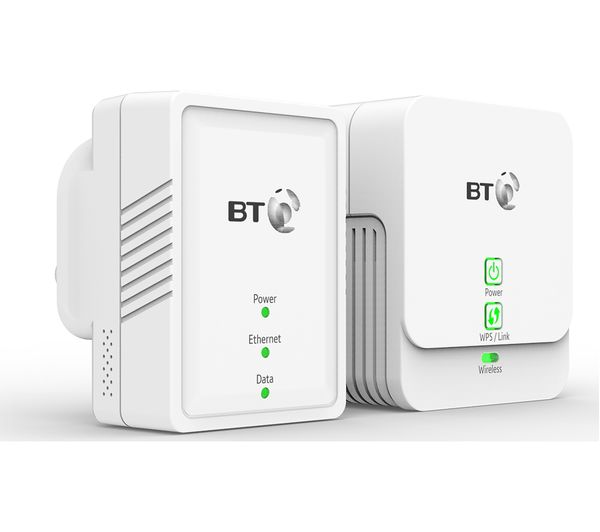 Buy Bt Essentials Wireless Powerline Adapter Kit Twin