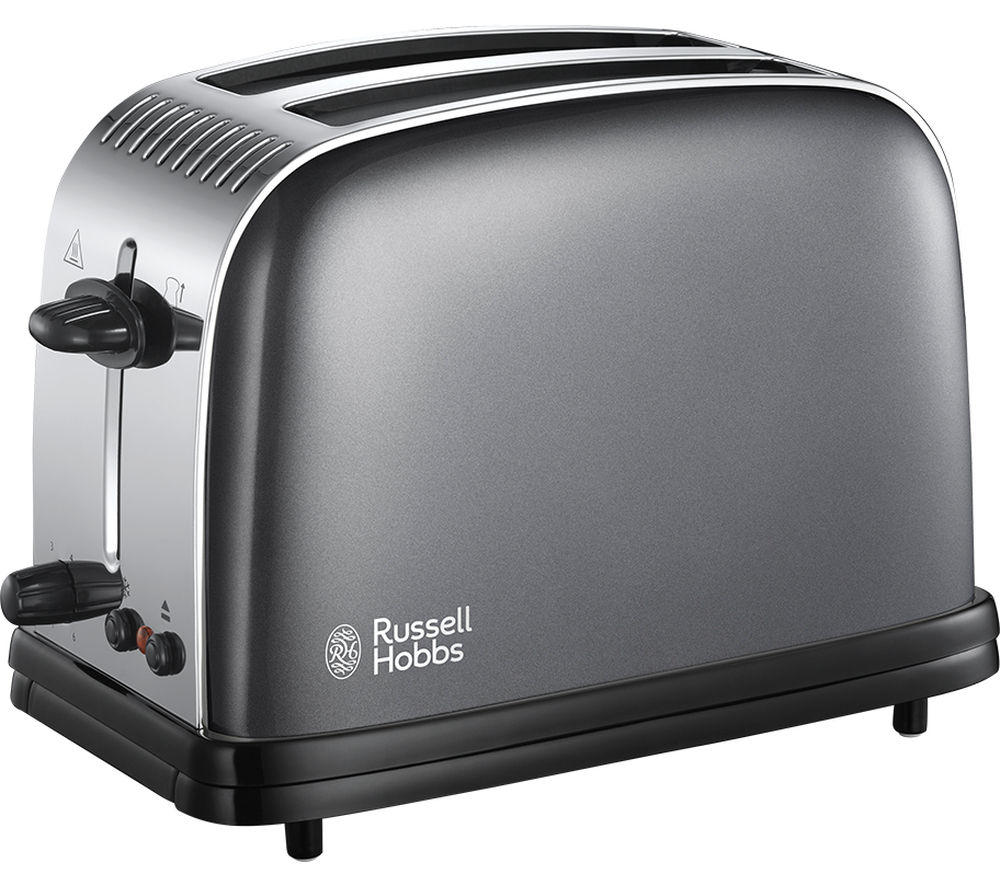 RUSSELL HOBBS  Colours Plus 23332 2Slice Toaster  Grey Grey