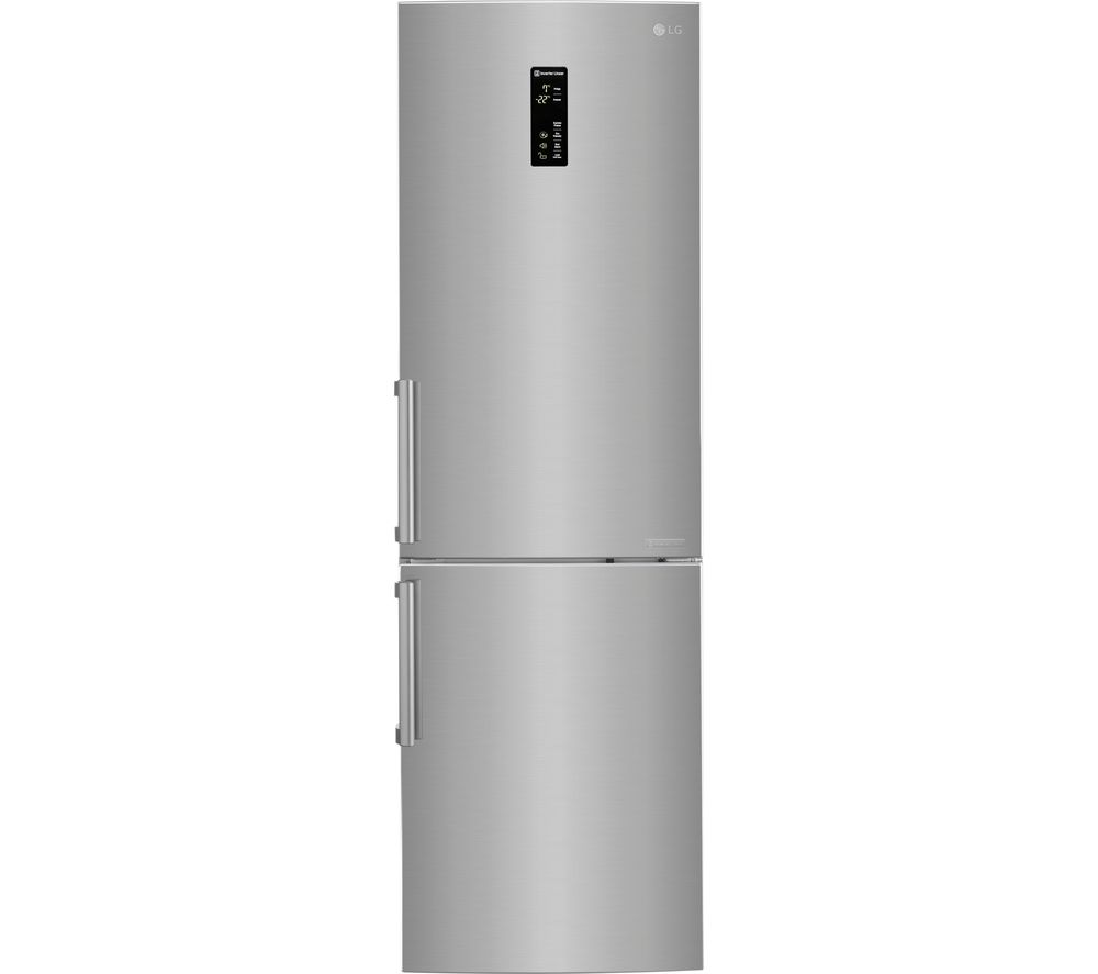 LG  GBB59PZFZB Fridge Freezer  Shine Steel